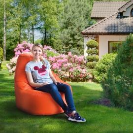 Кресло мешок Люкс на даче