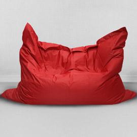 Кресло бескаркасное Большая подушка Красная, оксфорд