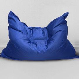 Кресло бескаркасное Большая подушка Василек, оксфорд