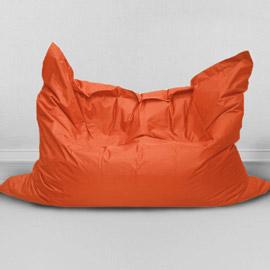 Кресло бескаркасное Большая подушка Апельсин, оксфорд
