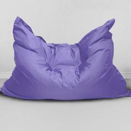 Кресло бескаркасное Большая подушка Лаванда, оксфорд