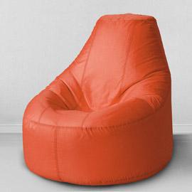 Кресло бескаркасное Люкс Оранжевый, оксфорд