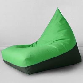 Кресло бескаркасное Пирамида Green, оксфорд