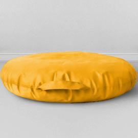 Подушка на пол Сидушка Желтый, оксфорд