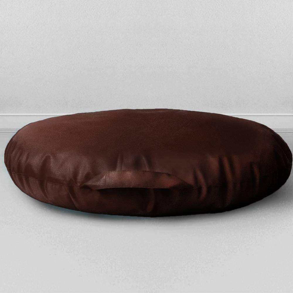 Подушка на пол Сидушка Шоколад, оксфорд