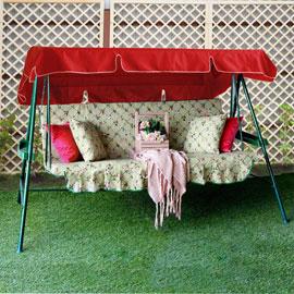 Тент для садовых качелей Красный, размер №8, Оксфорд