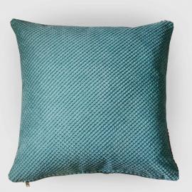 Декоративная подушка Ментол объемный велюр