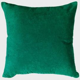 Декоративная подушка темный Изумруд