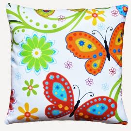 Декоративная подушка Бабочки