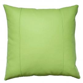 Декоративная подушка из экокожи, цв. Салатовый