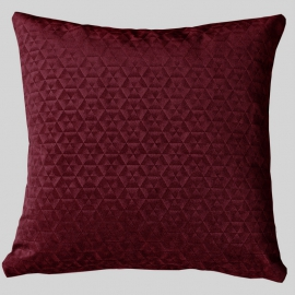 Декоративная подушка Калейдоскоп Бордо
