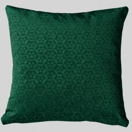 Декоративная подушка Калейдоскоп Темный Изумруд