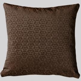 Декоративная подушка Калейдоскоп Шоколад