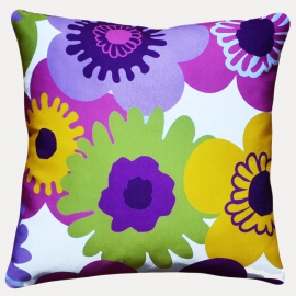 Декоративная подушка Пуэрто Плата,  фиолетовая