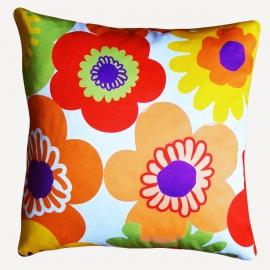 Декоративная подушка Пуэрто Плата,  оранжевая