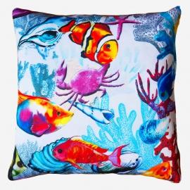 Декоративная подушка Рыбки