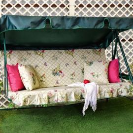 Матрас для качелей с подушками Новый Прованс