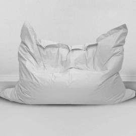 Кресло- мешок Подушка Серебристо-серая