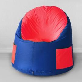 Кресло-мешок для улицы Емеля, Василек с красным