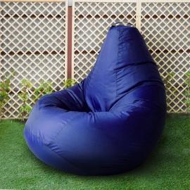 Кресло бескаркасное Груша Василек, размер Комфорт, оксфорд