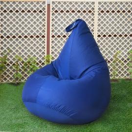 Кресло бескаркасное Груша Василек, размер Компакт, оксфорд