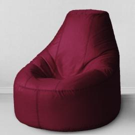 Кресло бескаркасное Люкс Бордовый, оксфорд