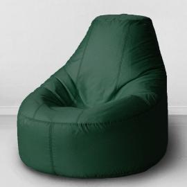 Кресло бескаркасное Люкс Зеленый, оксфорд