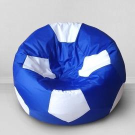 Кресло бескаркасное Футбольный мяч Челси, оксфорд