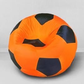 Кресло бескаркасное Футбольный мяч Креативный, оксфорд