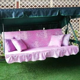 Матрас  с 2-мя подушками на садовые качели Новое Барокко